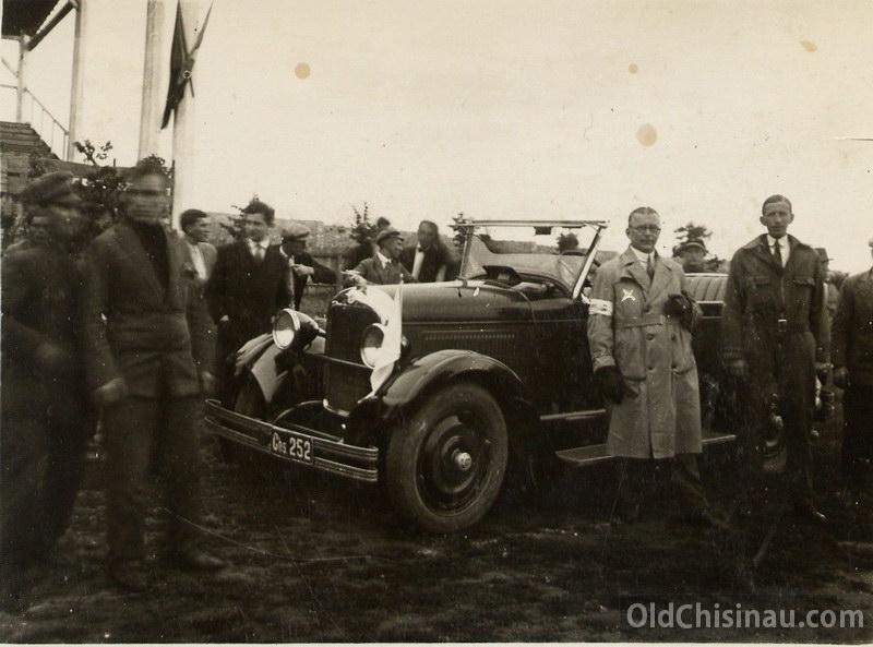 Автопробег Кишинёв - Хынчешты (29 июня 1929 г)