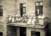 Балкон больницы