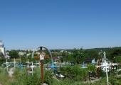 Панорама кладбища Старых Буюкан