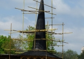 Церковь из Хиришен в Музее Села