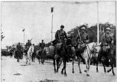 Парад румынских войск