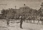 Парад румынских войск в Кишинёве