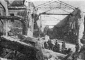 Разрушенная электростанция Кишинёва