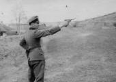 Немецкий солдат в Кишинёве