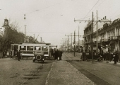 Трамвай на Армянской улице