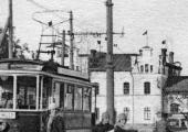 Трамвай у вокзала
