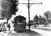 Трамвай на улице Ленина