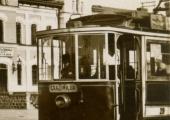 Трамвай на конечной