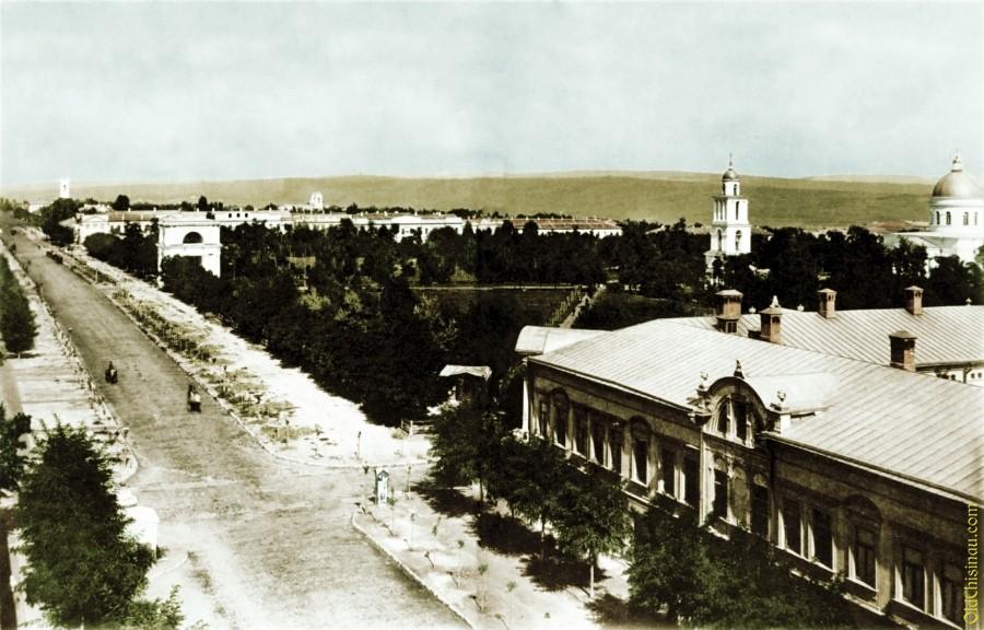 Вид на Соборный Сквер