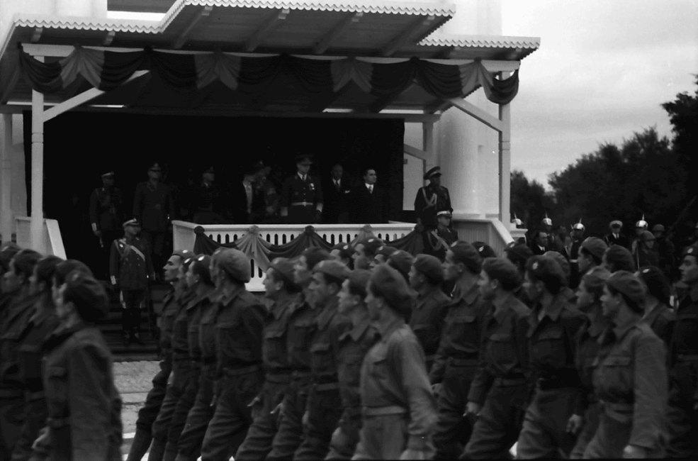 Король Михай I в Кишинёве