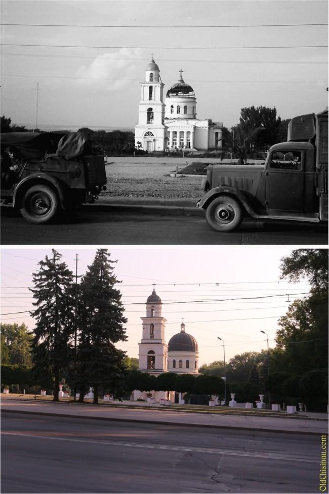 Военный Кишинёв вчера и сегодня