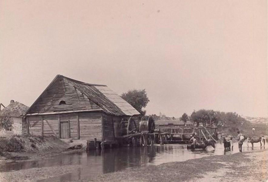 Мельница на реке Бык