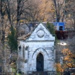 Часовня Огановичей-Демьяновичей на армяно-катол. кладбище Кишинева