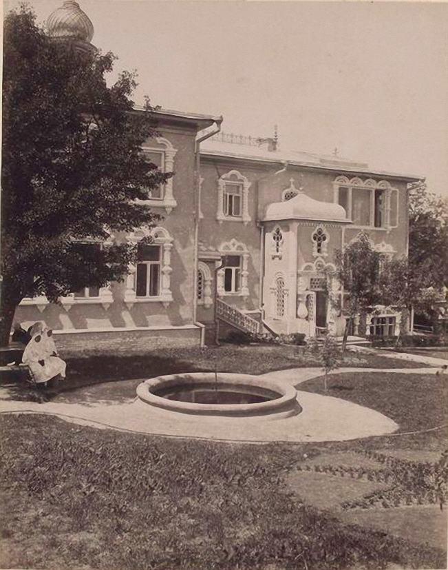 Покровская церковь, 1889 год.