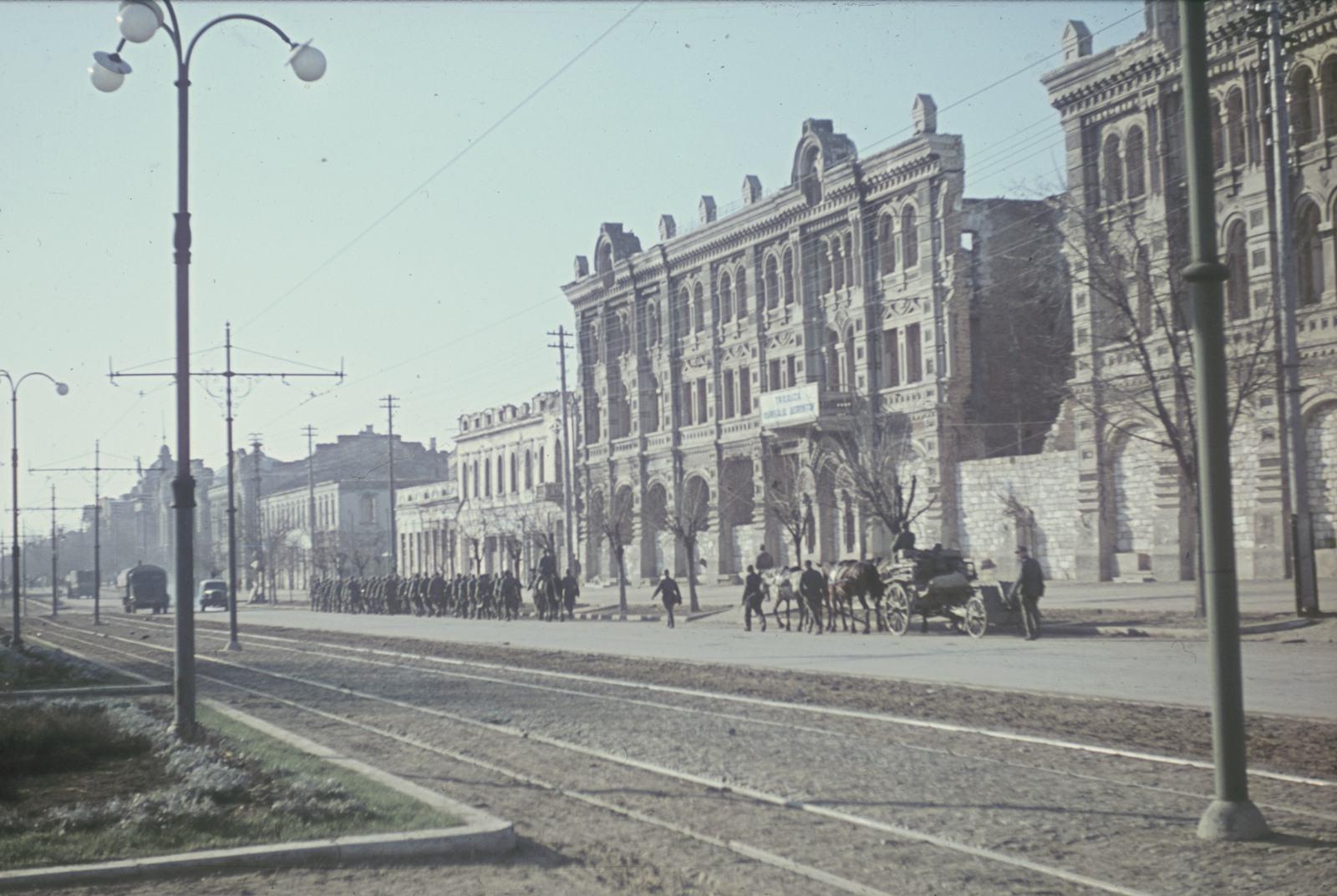 Серафимовский дом, 1944 год.