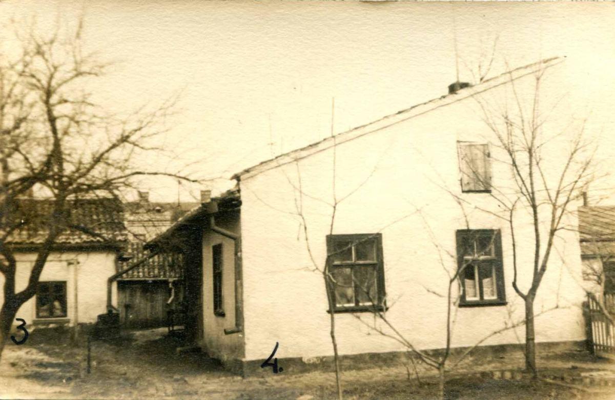 Виды зданий, расположенных за Семинарией. Фотография межвоенного периода.