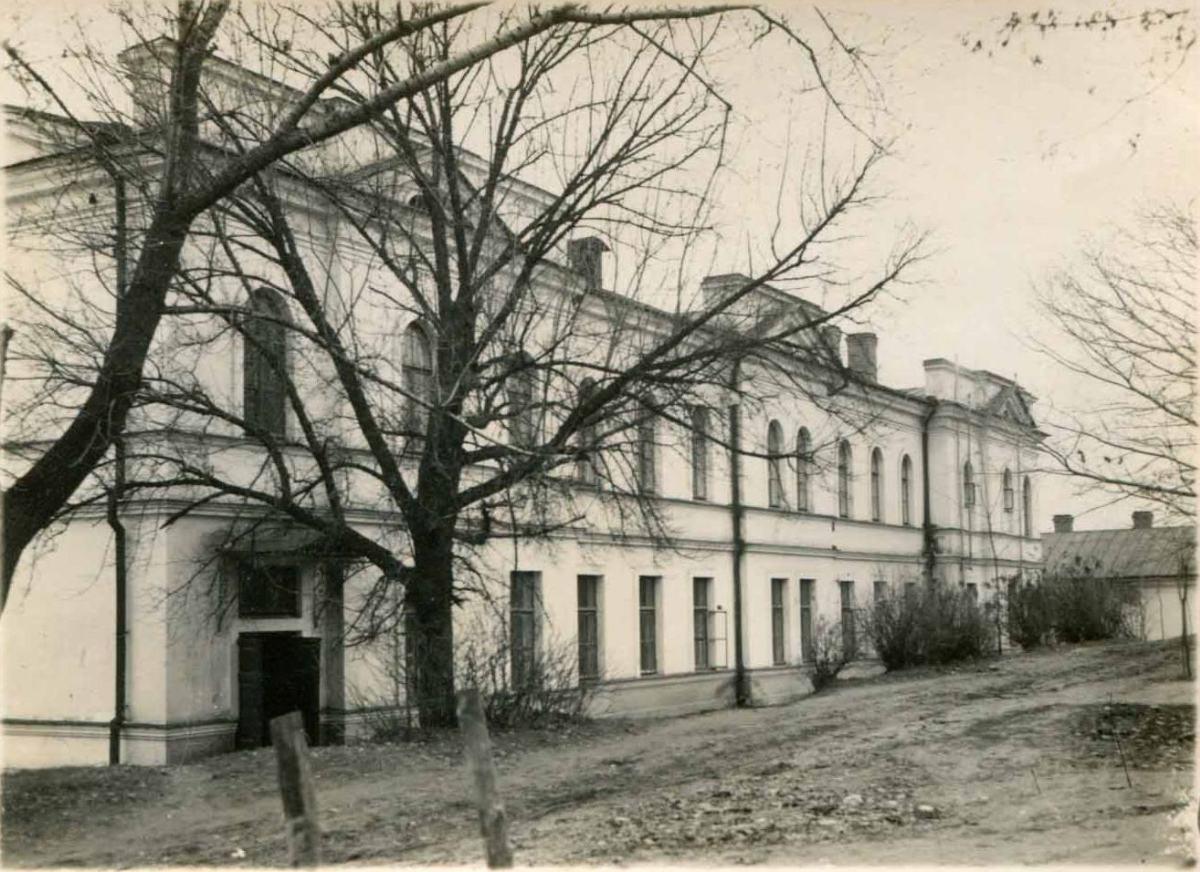 Дом Митрополии в межвоенный период. Фасад западного крыла.