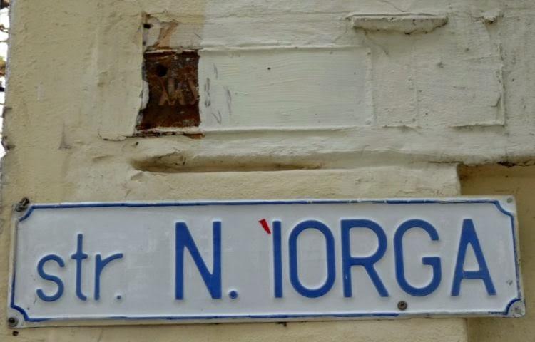 Улица Жуковского - улица Николая Йорги.