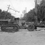 Бой на улице Колумна 16 июля 1941 года