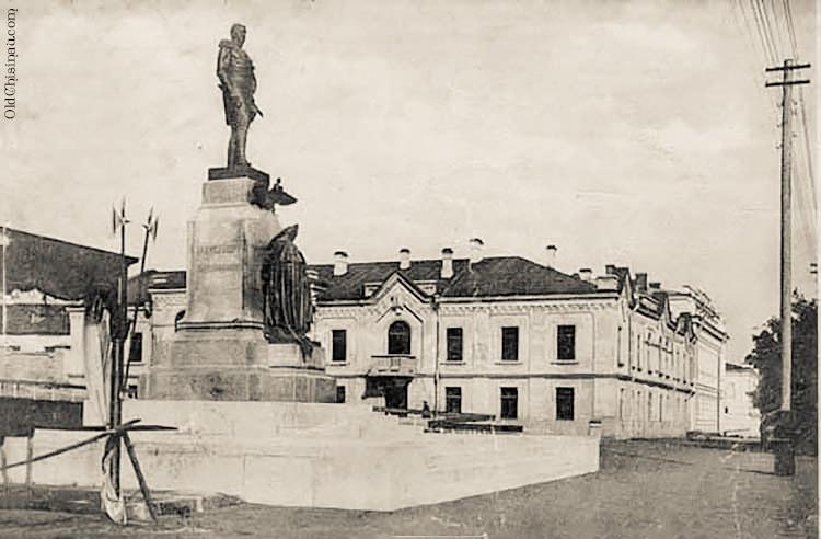 Памятник Александру I. Кишинёв.