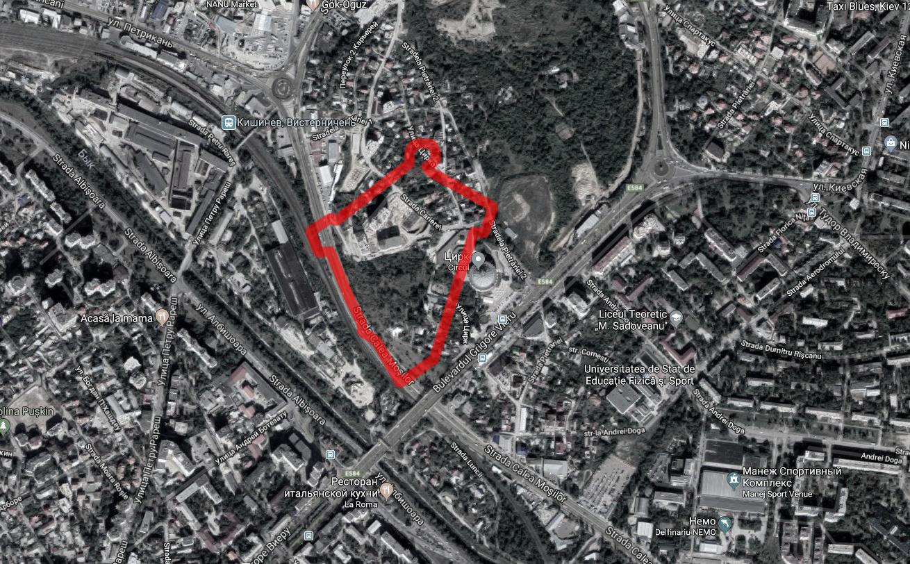Кишиневская крепость 1789