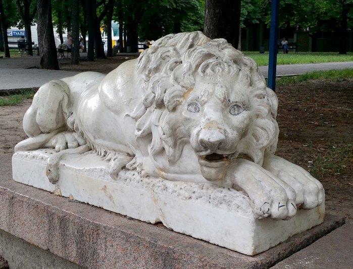 Лев в Николаеве (фото er-xvl).