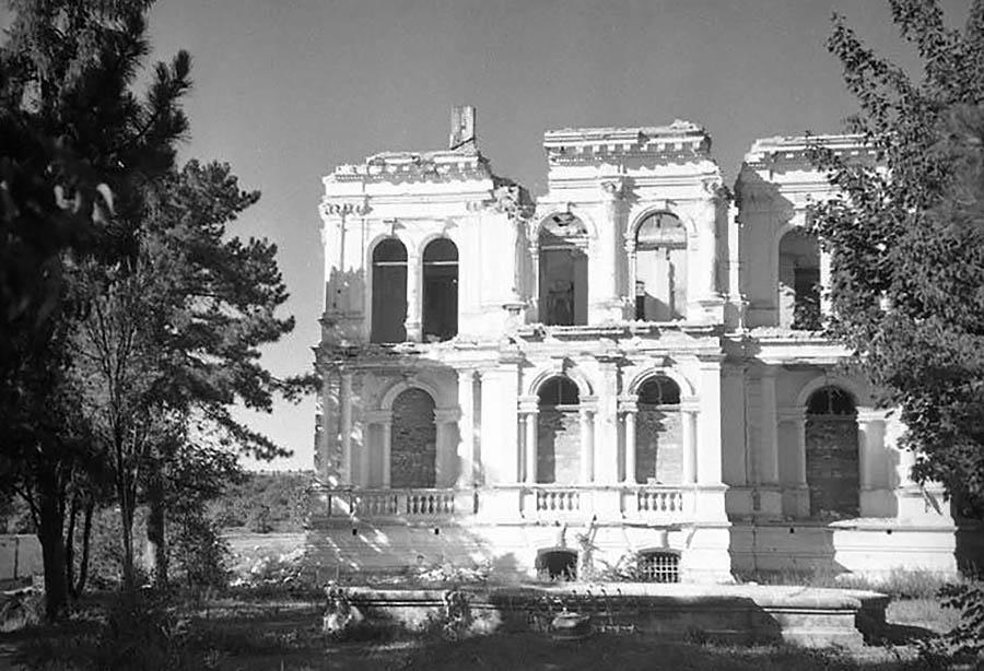 Кишнёв Дом Пронина руины