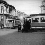 Кишинёвский трамвай на кадрах кинохроники