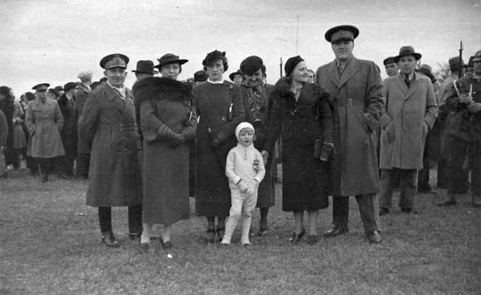 Авиа-шоу в старом аэропорту, 10 сентября 1936 года.