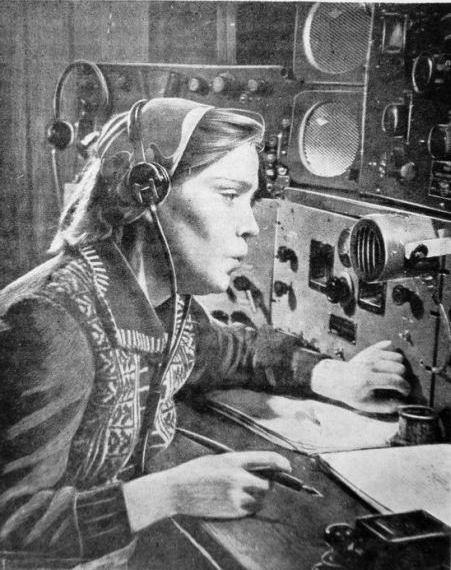 В радиодиспетчерской аэропорта Кишинёв.
