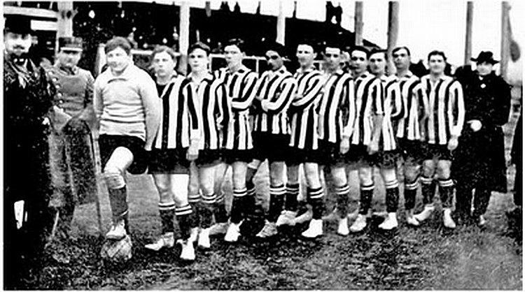 "Кишинёвский ""Спортинг"" на стадионе им. короля Фердинанда I, 1925 год."