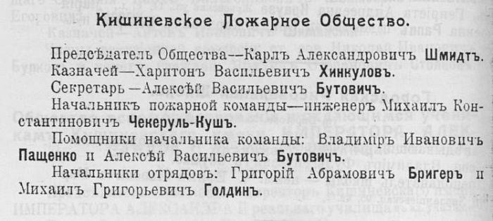 Пожарная служба Кишинёва