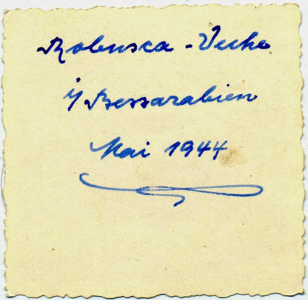 Cimiseni - Cobusca Veche 1944 4c