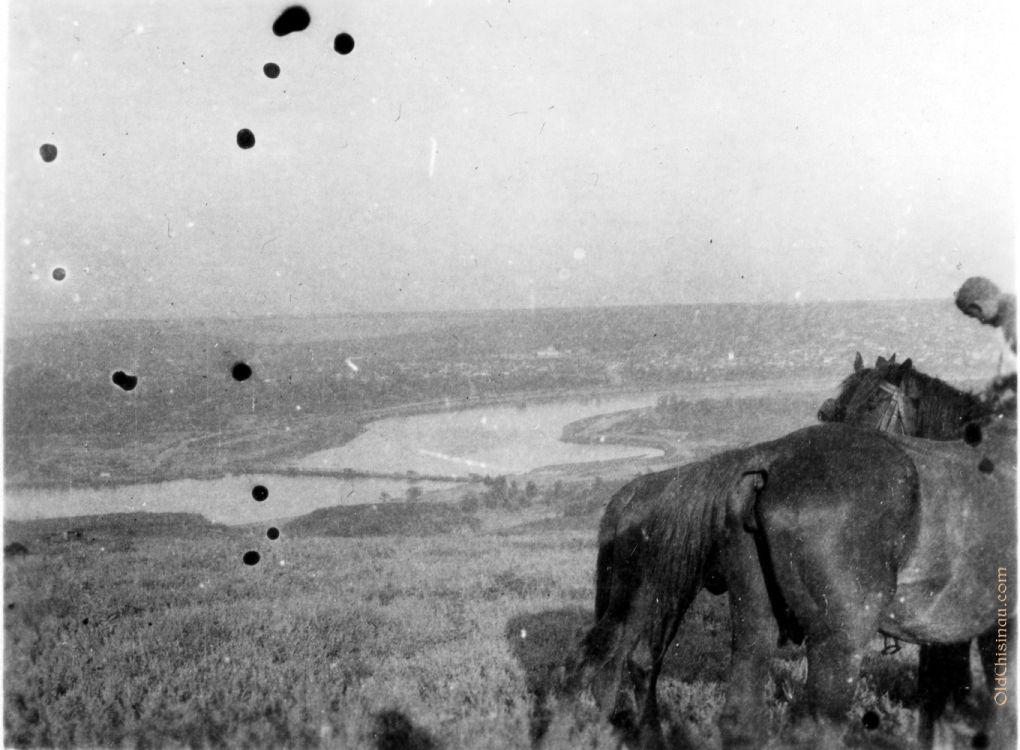 Вид на Днестр со стороны нынешнего села Дзержинское