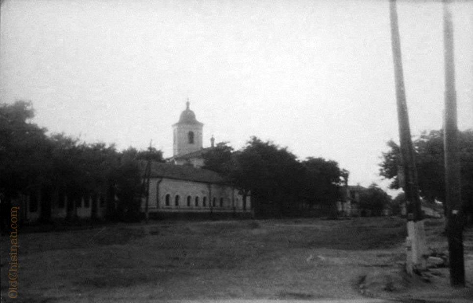 Ильинский рынок и Ильинская церковь. 1959 год.