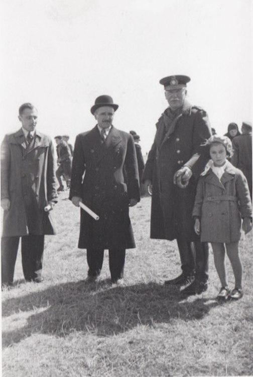 Генерал Пион Джеорджеску в Кишинёве.
