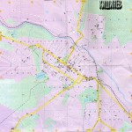 Карта Кишинева