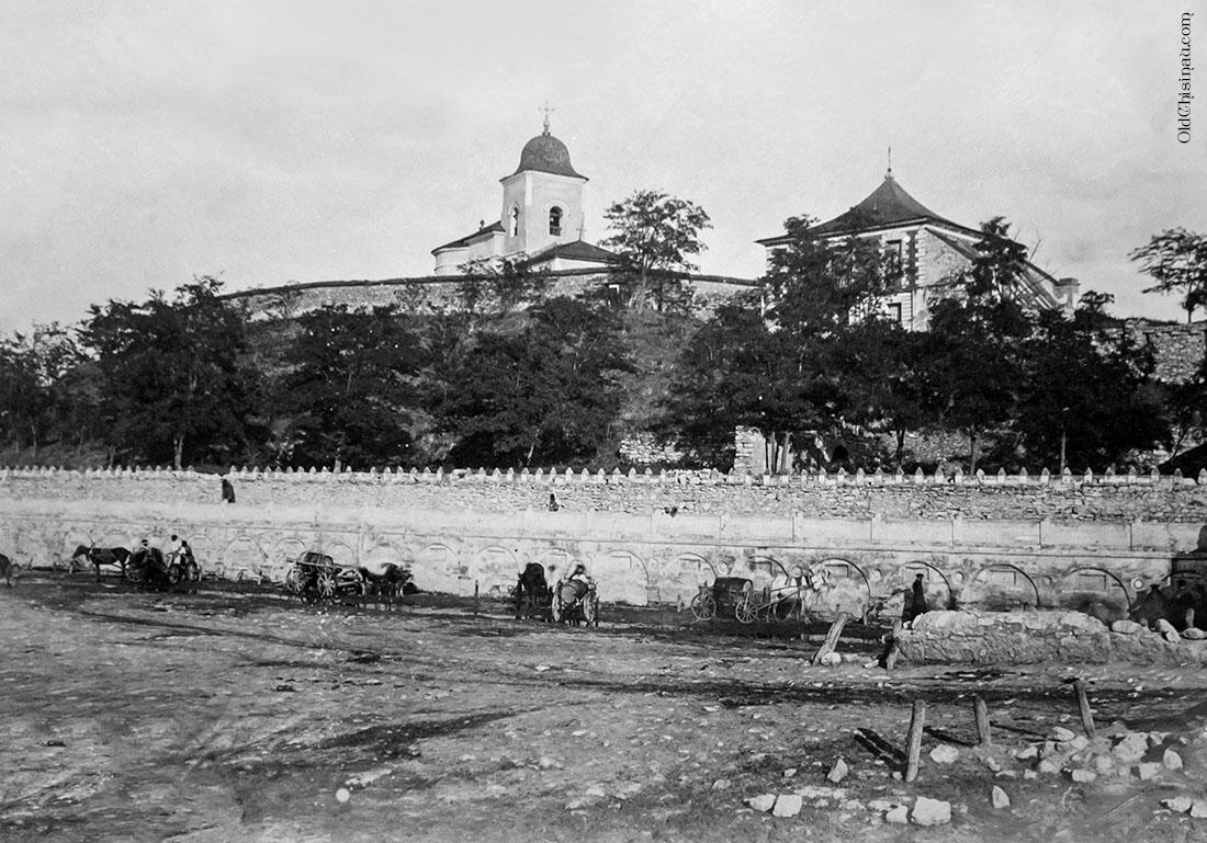 Фонтан. Фотография 1867 года. Кишинев