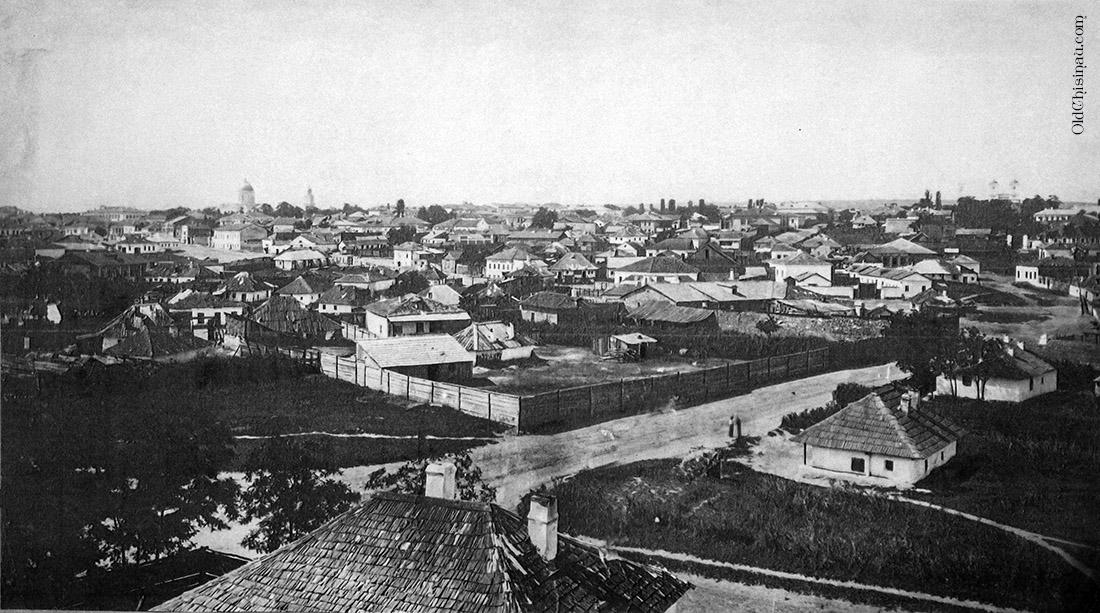 Вид на Кишинёв. 1867