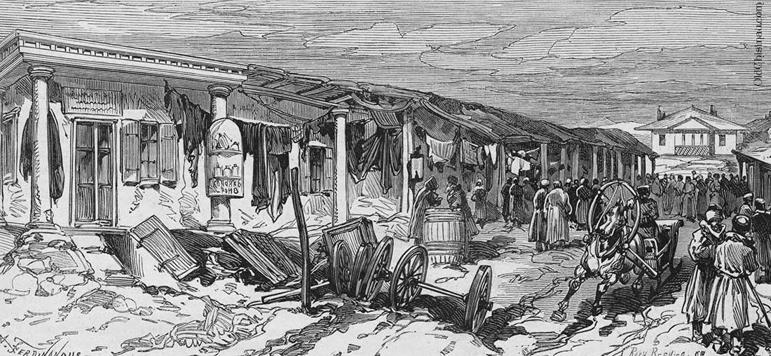 Кишинёвский рынок. 1877