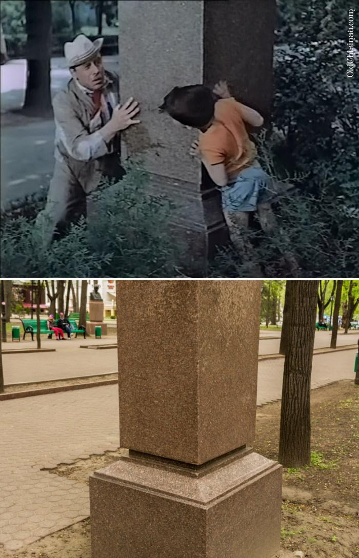 Человек идёт за солнцем, Кишинёв