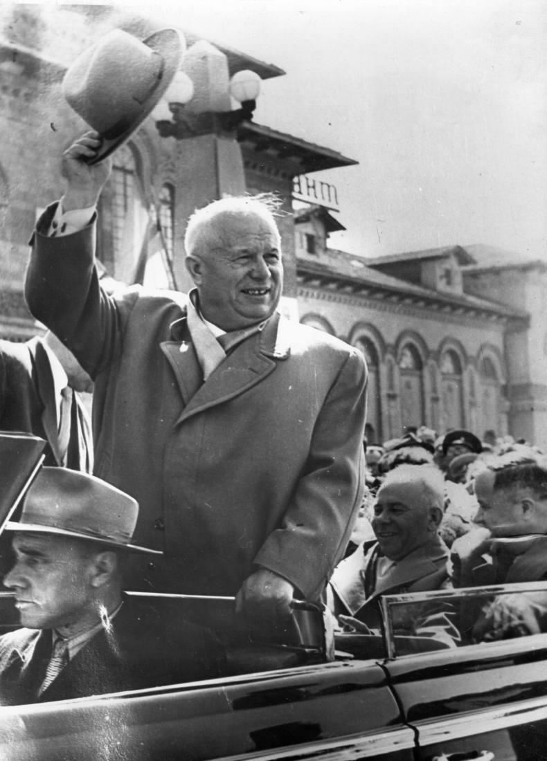 Н. С. Хрущёв в Кишинёве 1959
