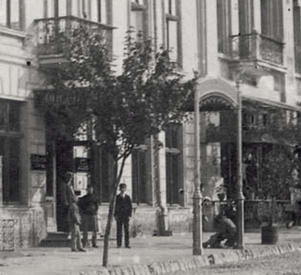 """Улица Пушкина, гостница """"London"""". 1930-е гг."""