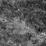 Спутниковый снимок Кишинёва 1970