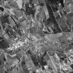 Снимок Бельц из космоса, сделанный спутником-шпионом США 24 сентября 1965 года