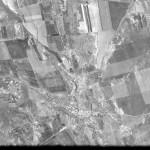Снимок Чимишлии из космоса, сделанный спутником-шпионом США 24 сентября 1965 года