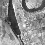 Снимок Дубоссар из космоса, сделанный спутником-шпионом США 24 сентября 1965 года
