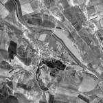 Снимок Каинар из космоса, сделанный спутником-шпионом США 24 сентября 1965 года