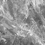 Снимок Калараша из космоса, сделанный спутником-шпионом США 24 сентября 1965 года