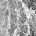 Снимок Ниспорен из космоса, сделанный спутником-шпионом США 24 сентября 1965 года